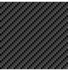 Carbon Sheet Seamless grey material vector image