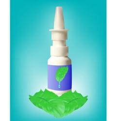 medicine bottles vector image vector image