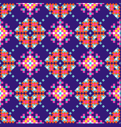 abstract folk ethnic seamless pattern tribal vector image