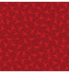 Burgundy background with red stars vector