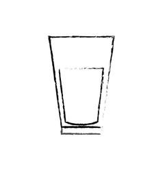 Delicious orange juice vector
