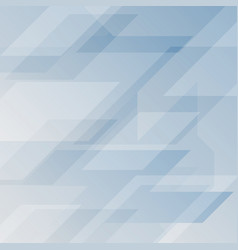 Light blue abstract geometric background vector