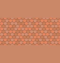Orange rotiles vector