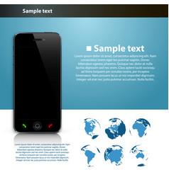 presentation global number vector image