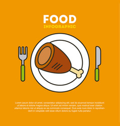 protein food vector image