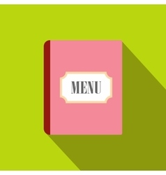 Restaurant menu flat icon vector