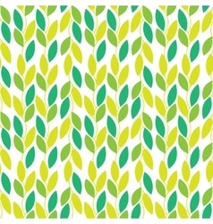 Seamless nature pattern with vines vector