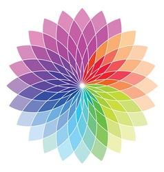 Skala boje cvet1 resize vector image
