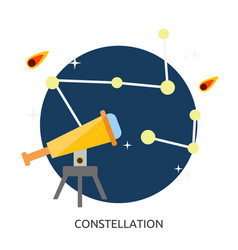Space constellation image vector