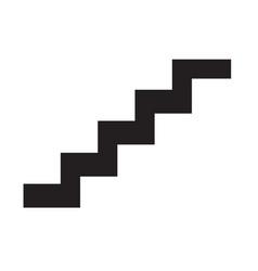 Staircase icon symbol design vector