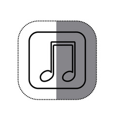 Symbol play music icon vector
