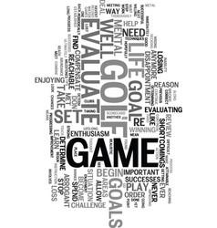 Your mental scorecard text word cloud concept vector