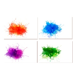 abstract watercolor banners vector image vector image