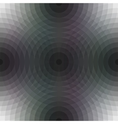 Seamless pattern background with circular shapes vector image