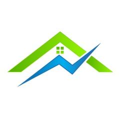 House electrical logo vector