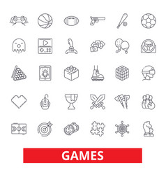 video games sports hobby passion console play vector image vector image