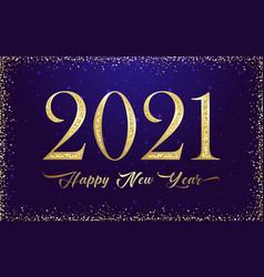 2021 glittering retro vector