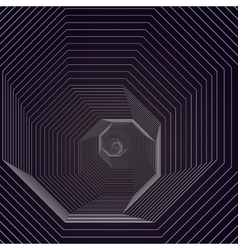 Abstract polygonal background with hexagons vector image
