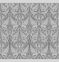 abstract seamless art nouveau pattern vector image