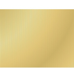 Background of corrugated gold vector
