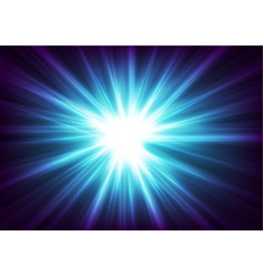 Blue glowing shiny beams abstract background vector