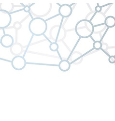 Communication structure net background vector