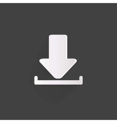 Download web icon vector