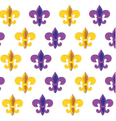 Fleur de lis background vector