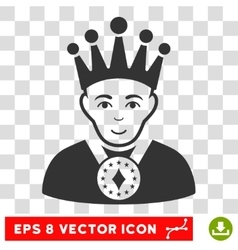 King eps icon vector