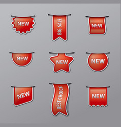 labels and tags for sale vector image