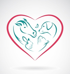 Pet Heart vector image