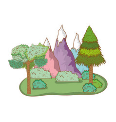Travel ecological tourism vector