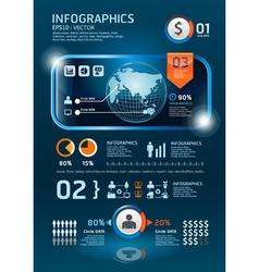 ininfographics set technology Graphics vector image