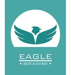 Eagle design vector