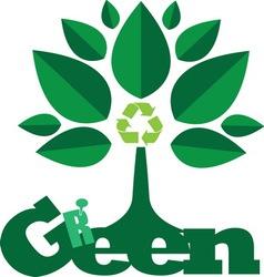 green2 vector image vector image