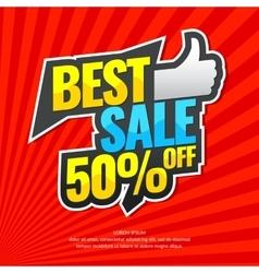 Original concept poster discount sale vector image vector image