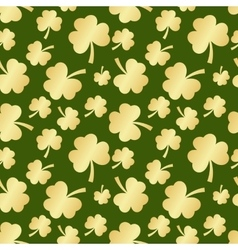 st patrick seamless vector image vector image