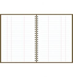 binder pad accounts vector image vector image