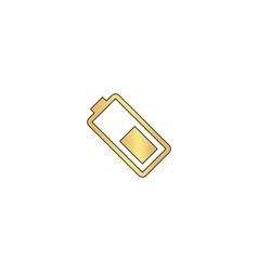 Battery computer symbol vector image