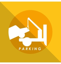 dont parking vector image