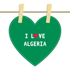I lOVE ALGERIA6 vector