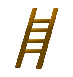 Icon ladder vector