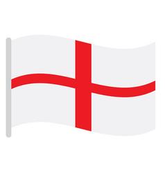 Isolated english flag vector