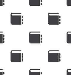 notepad seamless pattern vector image