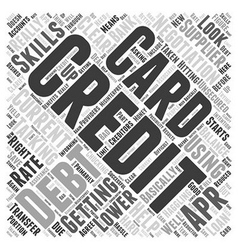 Haggling With Your Creditors Word Cloud Concept vector image vector image