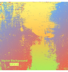 Colorful Grunge Texture vector image vector image