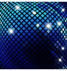 Dark blue mosaic vector image vector image