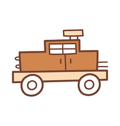 A vehicle vector image