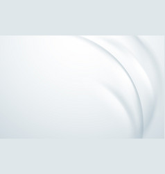 abstract wavy smooth curve background vector image