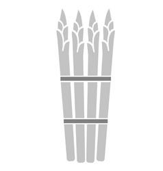 Asparagus simple art geometric vector